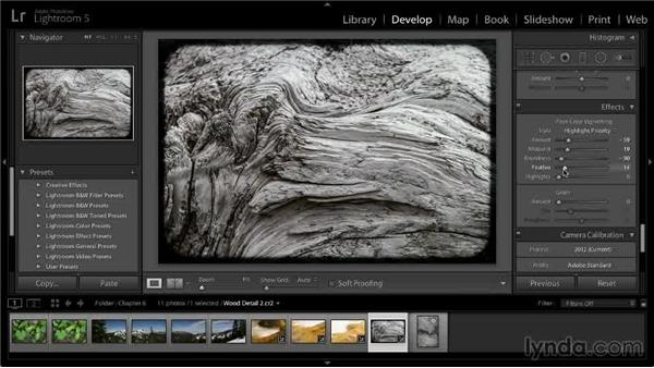 Duplicating the previous adjustment: Lightroom 5: 02 Optimizing Your Photos
