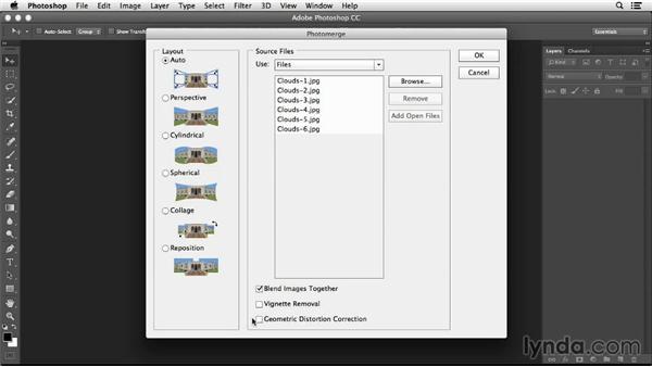 Stitching panoramas: Lightroom 5: 02 Optimizing Your Photos
