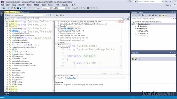 Welcome: Up and Running with C#