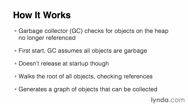 Working with the garbage collector: Up and Running with C#