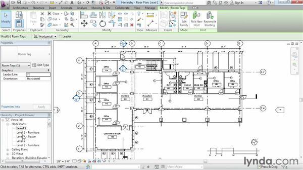 Understanding Revit element hierarchy: Revit Architecture 2015 Essential Training