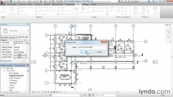 Working with visibility and graphic overrides: Revit Architecture 2015 Essential Training