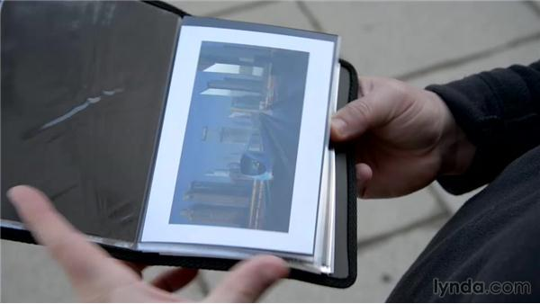 Carry a pocket portfolio and give a print: The Traveling Photographer: Fundamentals
