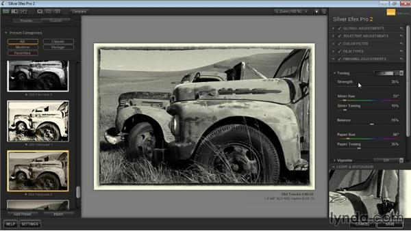 Color toning: Learning Silver Efex Pro 2