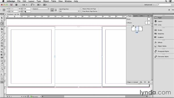 144 Lay out a front back and spine for a book jacket: InDesign Secrets