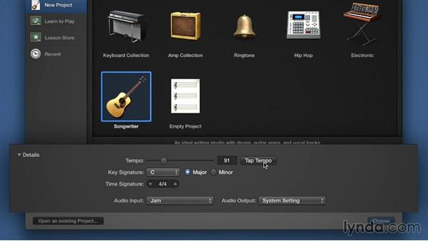 Welcome: Songwriting in GarageBand