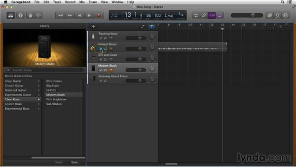 Choosing the right tempo: Songwriting in GarageBand