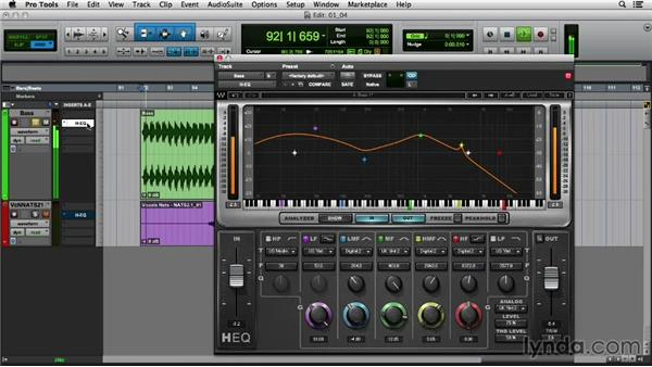 Utilizing the modes of the hybrid H-EQ: Mixing Techniques with Waves Plugins