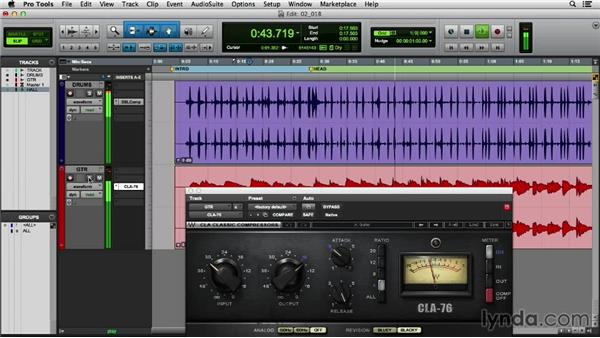 The basics of compression: Mixing Techniques with Waves Plugins