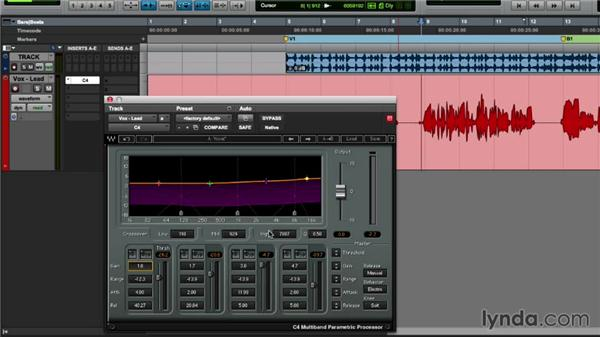 Targeting specific frequencies with multiband compression: Mixing Techniques with Waves Plugins