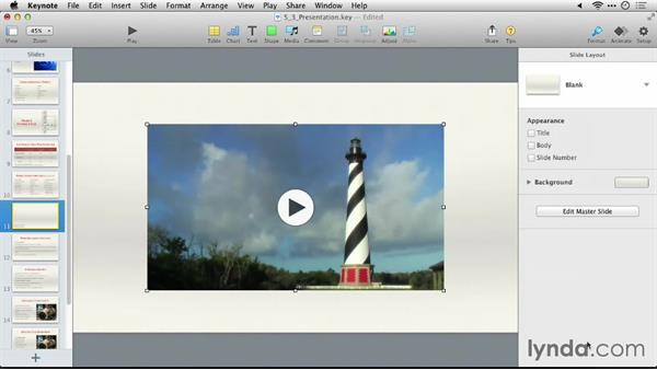 Using the exercise files: Keynote 6: From Outline to Presentation