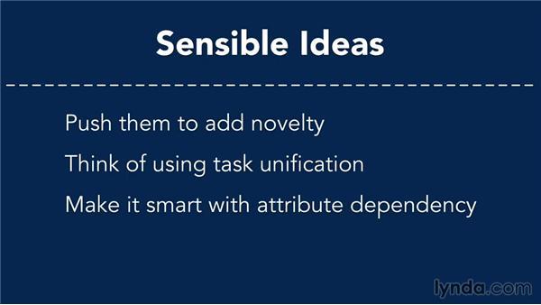 Evaluating ideas: Business Innovation