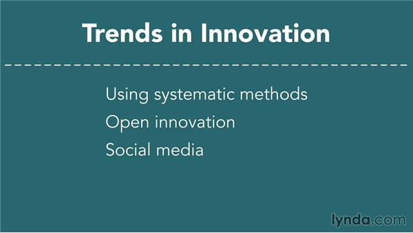 On trends in innovation: Business Innovation