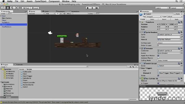 Creating gizmos: Unity 4 2D Essential Training