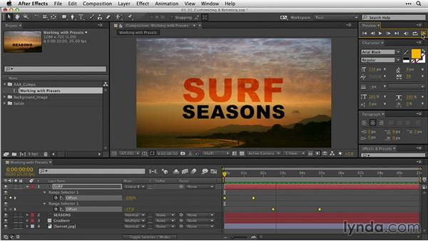 Welcome: After Effects Guru: Animating Typography
