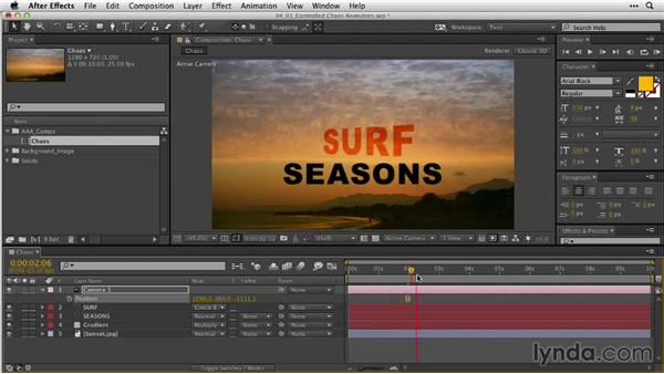 Creating controlled chaos with type animators: After Effects Guru: Animating Typography