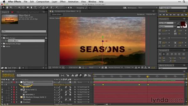 Building tension: After Effects Guru: Animating Typography