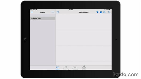 Lesson planning on an iPad: Teacher Tips
