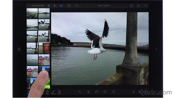 Understanding how editing affects your Camera Roll photos: iPhoto for iOS Essential Training