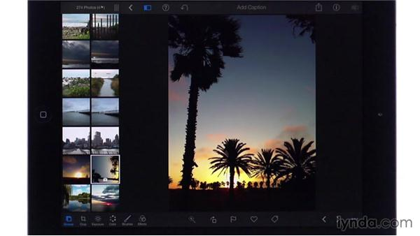 Rotating: iPhoto for iOS Essential Training