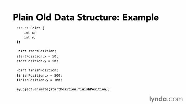 Using C Style Structs