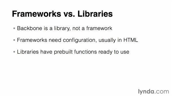Understanding Backbone and other Model-View-Controller (MVC) libraries: Up and Running with Backbone.js