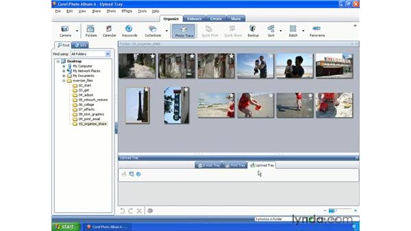Emailing photos: Getting Started with Paint Shop Pro X