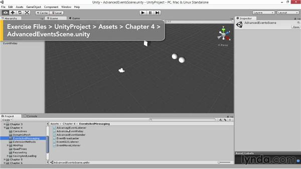 Events and messaging systems: Advanced Unity 3D Game Programming