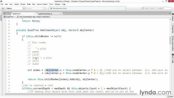 Quadtrees: Advanced Unity 3D Game Programming