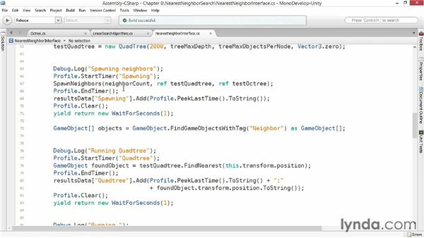 Nearest-neighbor search: Advanced Unity 3D Game Programming
