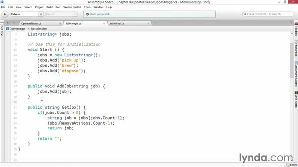 Update() overuse: Advanced Unity 3D Game Programming