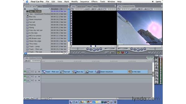 Loading to the viewer pt. 1: Final Cut Pro 5 Essential Editing