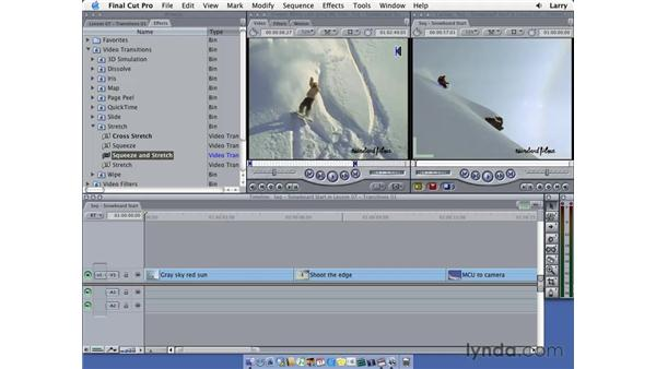 Transitions pt. 1: Final Cut Pro 5 Essential Editing