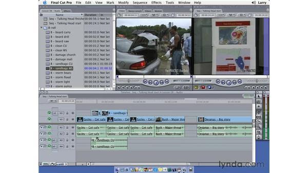 Editing audio pt. 2: Final Cut Pro 5 Essential Editing