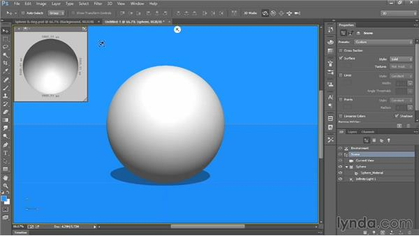 Creating a simple 3D object: Introducing Photoshop: 3D