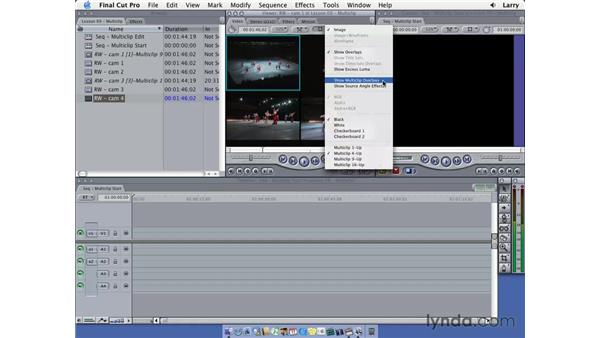 Intro to MultiClip: Final Cut Pro 5 Essential Editing