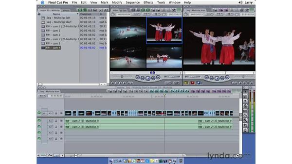 Editing with MultiClip: Final Cut Pro 5 Essential Editing