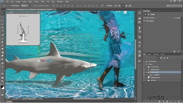 Importing a 3D model into Photoshop