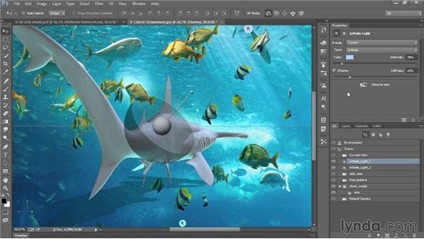 Exporting a 3D scene as a DAE file: Introducing Photoshop: 3D
