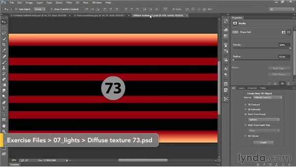 Without light there is darkness: Introducing Photoshop: 3D