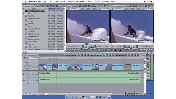 Exporting pt. 1: Final Cut Pro 5 Essential Editing