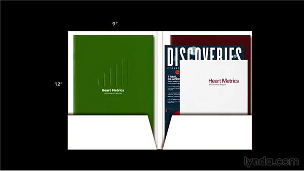 Types of folders: Foundations of Layout and Composition: Marketing Collateral