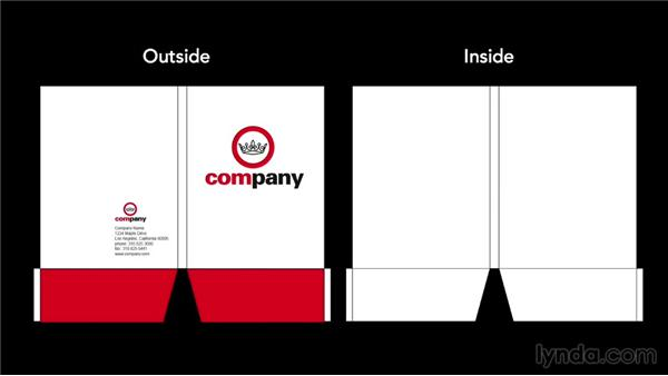 Printing issues for folders: Foundations of Layout and Composition: Marketing Collateral