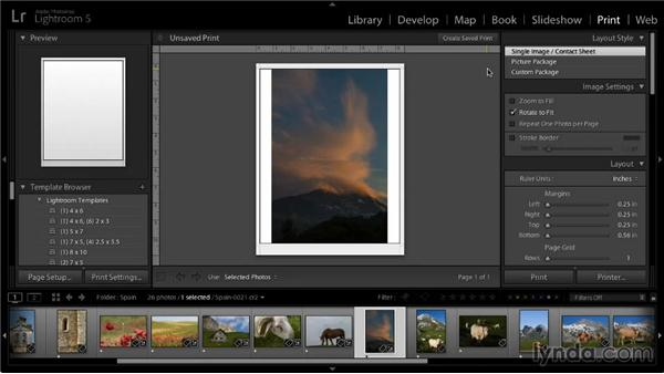 Correcting inaccurate prints: Lightroom 5: 05 Printing