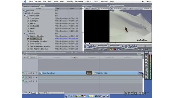 Transitions pt. 3: Final Cut Pro 5 Essential Editing