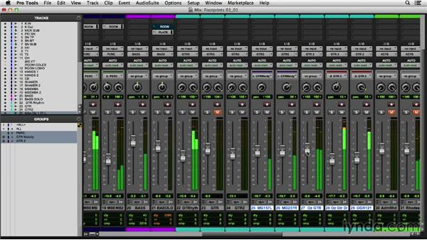 Sweetening the harmonic elements with the guitars: Mixing a Modern Jazz Track
