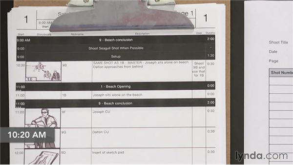 Running the shoot day on paper: Managing a Video Production with an iPad