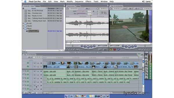 Audio mixing pt. 1: Final Cut Pro 5 Essential Editing