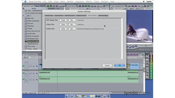 Importing pt. 2: Final Cut Pro 5 Essential Editing