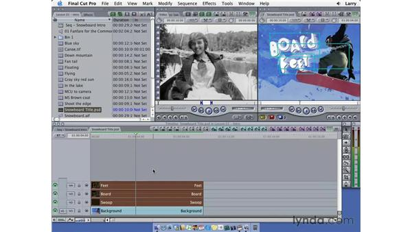 Importing pt. 3: Final Cut Pro 5 Essential Editing